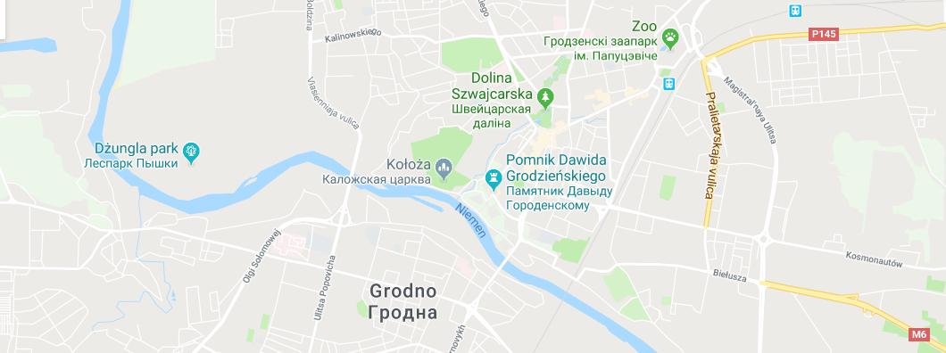 Białoruś: Grodno – miasto królewskie